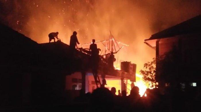INNALILLAHI, Kebakaran Hanguskan Pesantren di Cianjur, Dua Orang Tewas, Api Diduga dari Rumah Ustaz