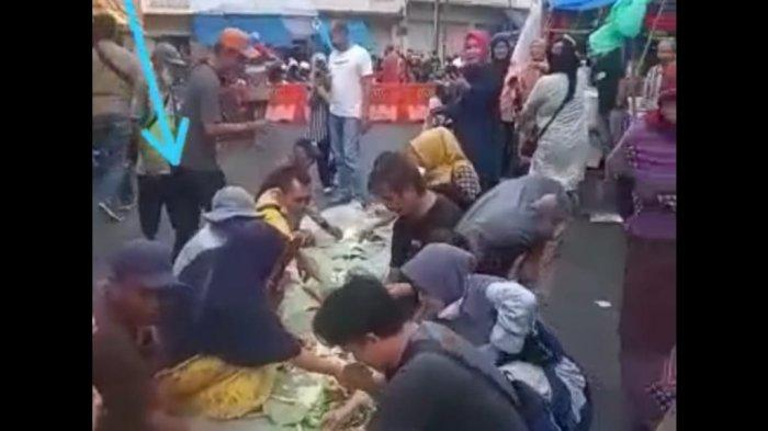Heboh PKL Gelar 'Liliwetan' di Tengah Jalan Cihideung Kota Tasik, Ini Penjelasan Kapolres