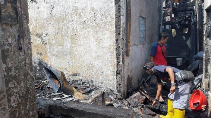20 Rumah Terbakar di Astanaanyar Kota Bandung, 18 Rumah di Antaranya Hangus Tak Tersisa