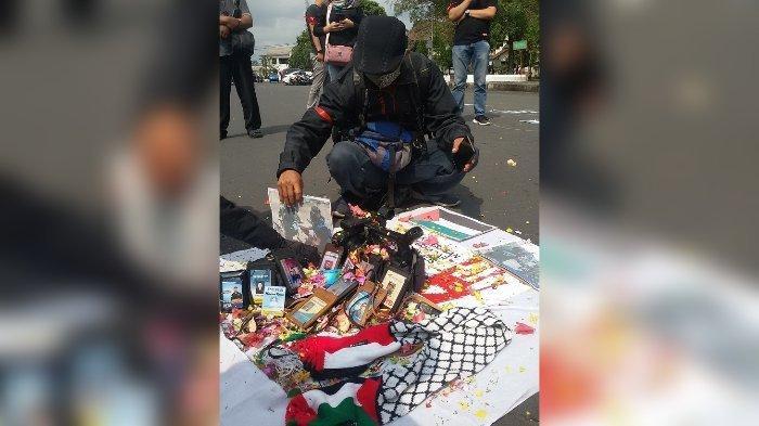 Gelar Aksi Solidaritas untuk Palestina, Jurnalis Ciamis Turun ke Jalan