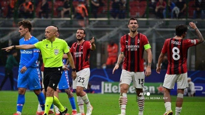 AC Milan Merasa Dirampok, Pemain Atletico Madrid Lebih Dulu Handball tapi Mereka yang Dihukum