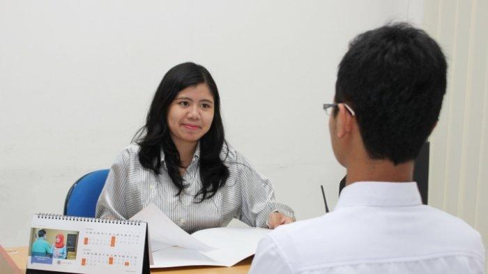 Ilustrasi wawancara kerja