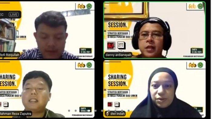 Sharing Session with UMKM: Digitalisasi Bantu UMKM Selama Pandemi