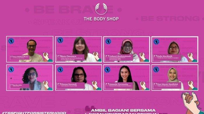 Korban Kekerasan Seksual Tak Berani Ungkap Pengalaman, The Body Shop Lakukan Hal Ini