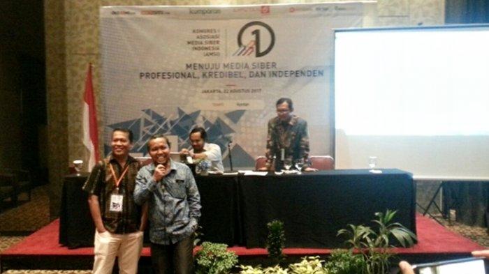 Wenseslaus Manggut Terpilih Jadi Ketua Umum Asosiasi Media Siber Indonesia