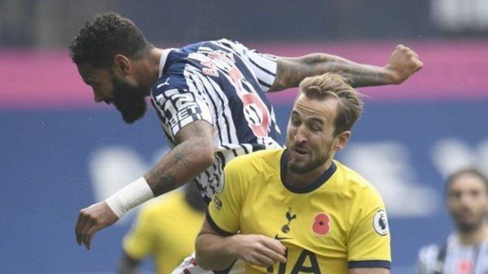 Duel West Brom vs Tottenham pada rangkaian pekan kedelapan Liga Inggris, Minggu (8/11/2020) malam WIB.