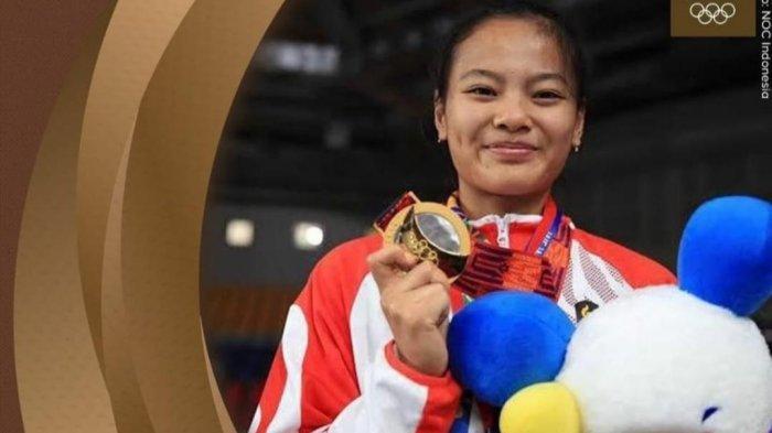 Tangis Pecah di Rumah Cantika si Penyumbang Medali Pertama untuk Indonesia di Olimpiade Tokyo 2020