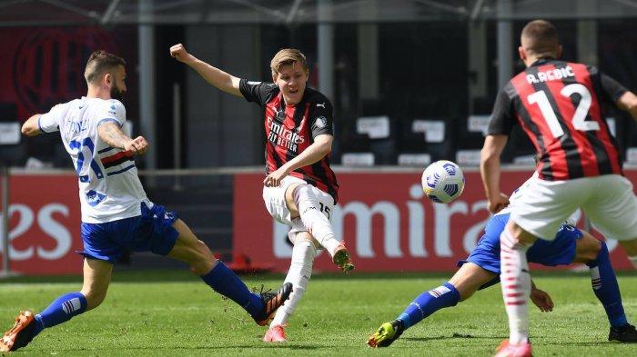 Ditahan Sampdoria, Laju AC Milan Kejar Liga Champions Tersendat, 2 Bulan Tak Menang di San Siro