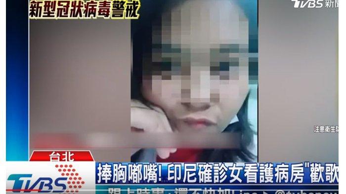 Viral WNI Terinfeksi Virus Corona di Taiwan, Buat Live Tik Tok di Rumah Sakit