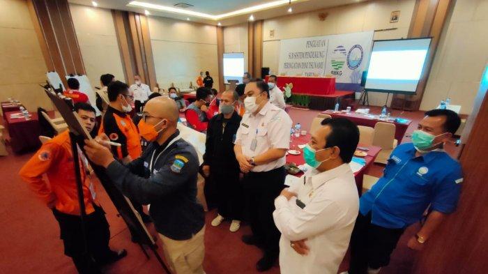 BMKG Bersama Masyarakat Pangandaran Perkuat Mitigasi Tsunami sampai Tingkat Desa