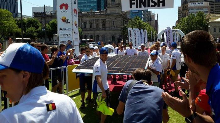 Berbangga Hati Melihat Merah Putih Berkibar di World Solar Challenge