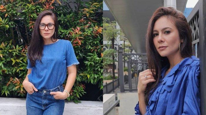 Istri Adilla Dimitri, Wulan Guritno tetap cantik awet muda.