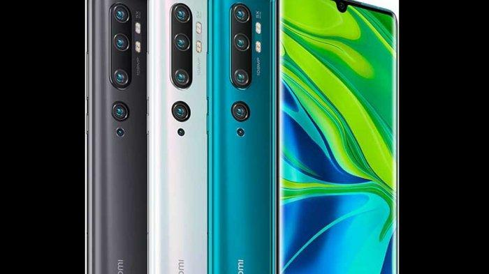 Daftar Harga Hape Terbaru Xiaomi Januari 2020, Mi Note 10 Pro Masih Rp 6,9 Juta