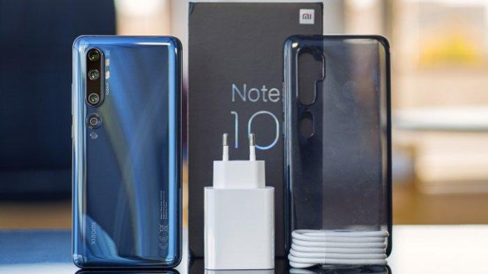 Daftar Harga Hape Xiaomi Terbaru Februari 2020, Mi Note 10 Pro Masih Rp 6,9 Juta