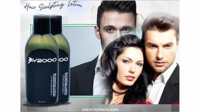 Pengganti produk Hairspray, Gel, Mousse, Pomade dengan Y-2000 Sculpting Lotion