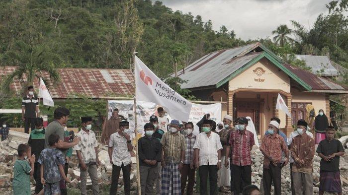 Masjid Terdampak Gempa di Mamuju Dibangun Kembali oleh Masjid Nusantara