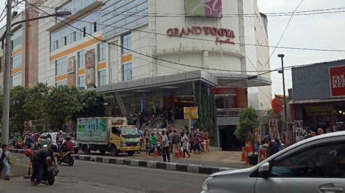 BELANJA BAJU LEBARAN, Ini Situasi Terkini Yogya Kepatihan dan Pusat Belanja di Kota Bandung