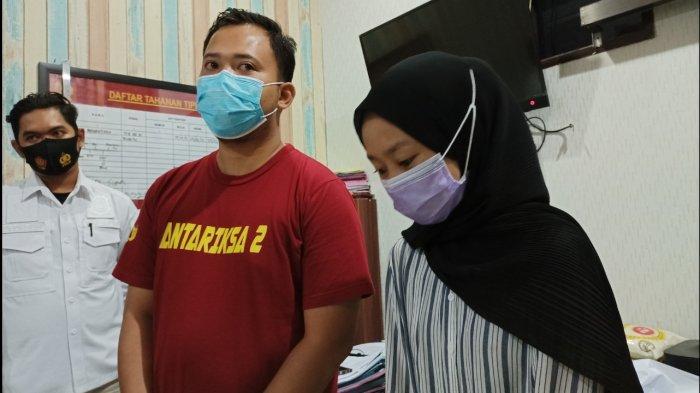 2 Youtuber Indramayu yang diamankan polisi