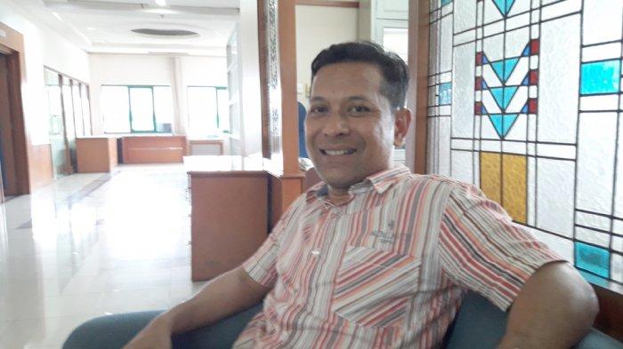 Yudi Guntara saat diwawancarai Tribun Jabar di kantornya, Jumat (29/9/2017).