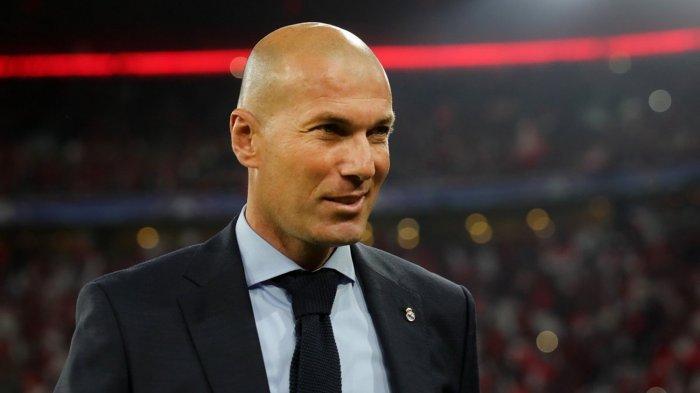 Liga Champions 8 Besar 2021 - Liverpool vs Real Madrid, Ini Reaksi Pelatih El Real Zinedine Zidane