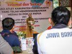 Atlet PON XX Papua Asal Purwakarta Disambut Bupati, Pemkab Purwakarta Siapkan Bonus Ratusan Juta