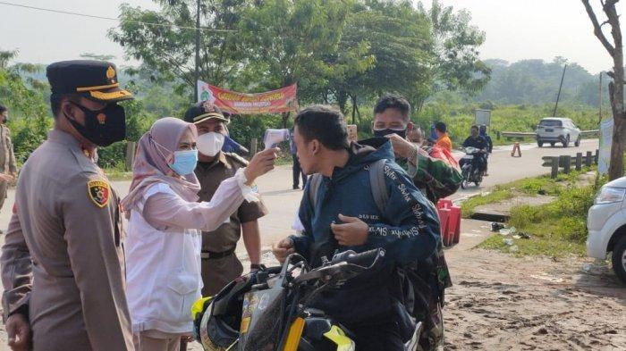 Sebanyak 16.016 kendaraan yang hendak mudik dari Kabupaten Tangerang diputarbalikan oleh Polresta Tangerang selama 10 hari penyekatan, Sabtu (15/5/2021).