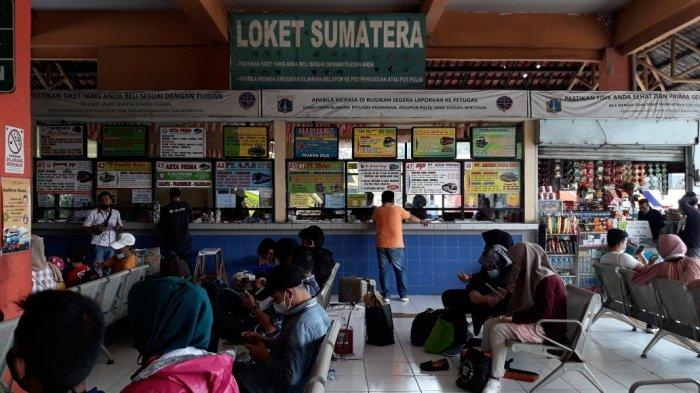 Puluhan PO AKAP di Terminal Kampung Rambutan Tutup Karena Sepi Penumpang