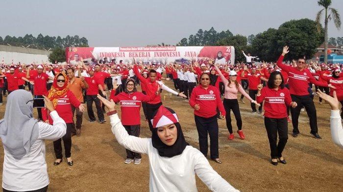 Pecahkan Rekor Muri, 200 Ribu Warga Binaan Tari Kolosal Serentak se-Indonesia