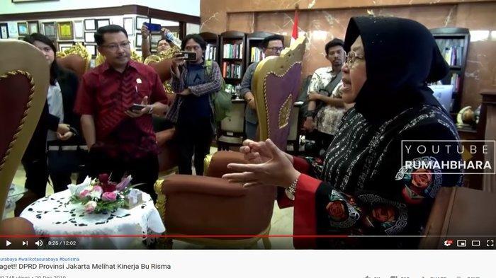 Lihat Ruang Kerja Risma, Anggota DPRD DKI Tertegun: Coba Jakarta Begini, Ibu Kita Usulkan Pindah