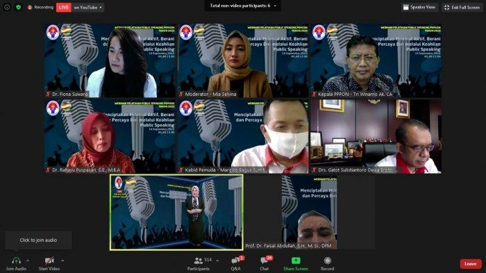 Kemenpora Gelar Pelatihan Public Speaking, Ribuan Peserta Serap Ilmu dari 3 Narasumber Handal