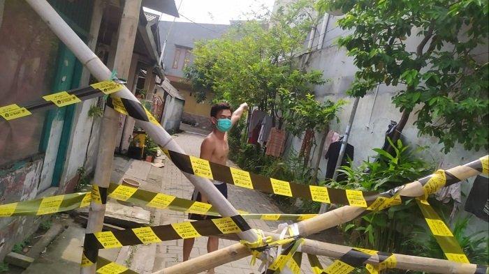 Lockdown Klaster RW di Jatiuwung Tangerang Diberlakukan Selama Sepekan