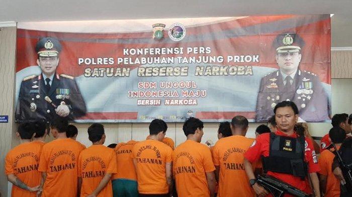 Dalam 3 Bulan, Polres Pelabuhan Tanjung Priok 37 Kali Gagalkan Penyelundupan Narkoba