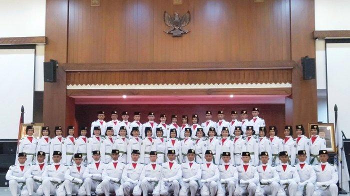 Daftar Nama Lengkap 54 Paskibraka Tingkat Wali Kota Jakarta Pusat Sambut HUT Ke-74 Kemerdekaan RI