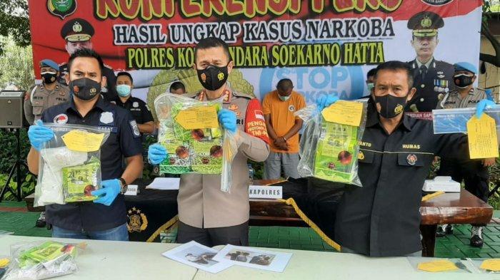 Bandar 5 Kilogram Narkoba di Bandara Soekarno-Hatta Meregang Nyawa Saat Ditangkap