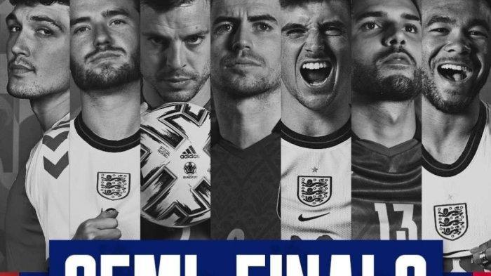 Semifinal Euro 2020 Malam Ini: Kepercayaan Diri Gareth Southgate dan Harry Kane yang Sesumbar