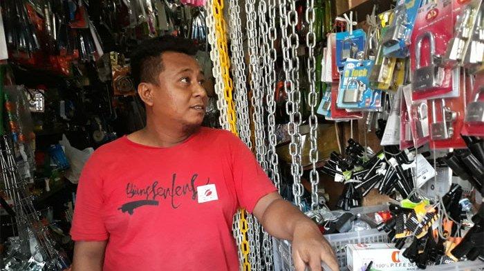 Tujuh Hari Jelang Lebaran, Penjualan Gembok Biasanya Meningkat Hingga 2 Kali Lipat
