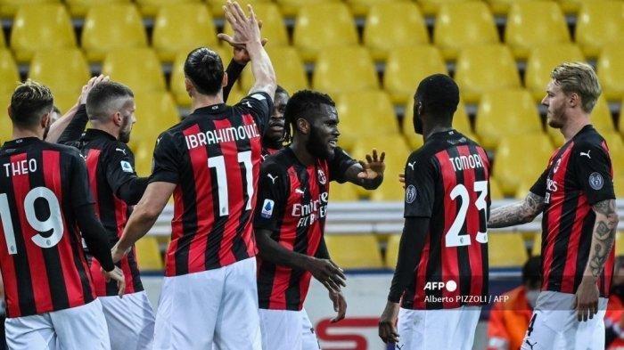 Hasil Liga Italia: AC Milan Kalahkan Genoa 2-1
