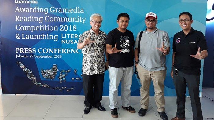 Tingkatkan Literasi Masyarakat Indonesia Lewat GRCC 2018, Ini Daftar Pemenangnya