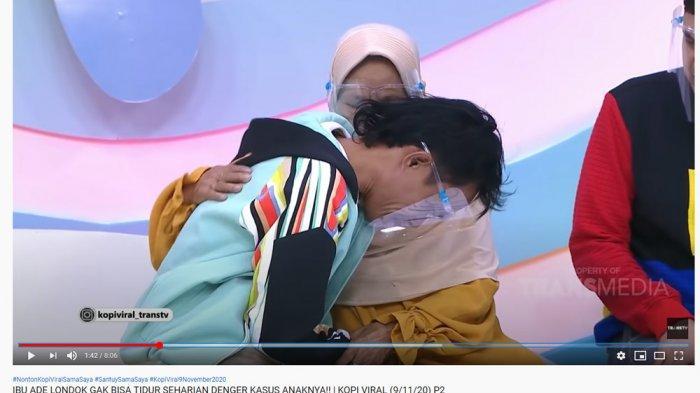 Sudah Dimaafkan Malih Tong Tong, Adek Londok Menangis ke Sang Ibunda: Alhamdulilah Berkat Doa Emak
