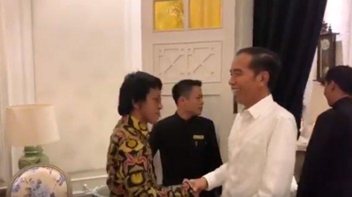 Viral Video TKN Salami dan Sapa Jokowi 'Siap Presiden', Adian Napitupulu Jadi Trending Twitter