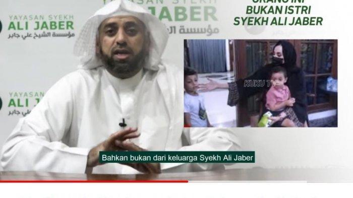 Viral Wanita Disebut Istri Syekh Ali Jaber, Adik Sang Ulama Bantah: Bukan Ummu Nadia atau Ummu Fahad