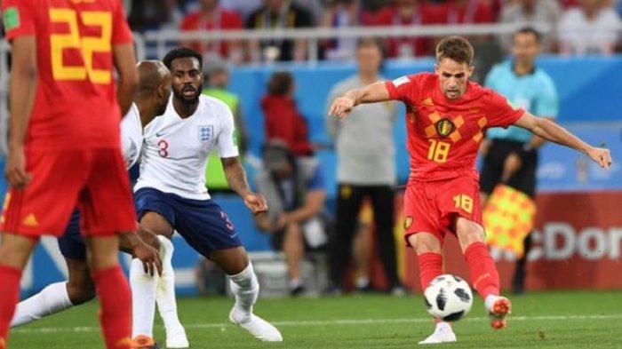 Hasil Piala Dunia: Belgia Kalahkan Inggris dengan Skor Tipis 1-0