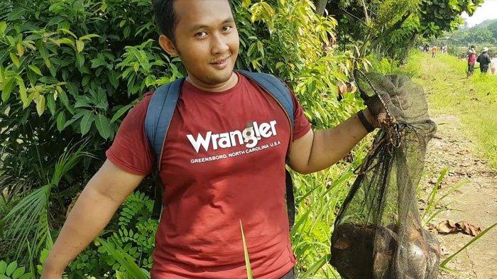Modal Rp 25 Ribu, Adrian Bawa Pulang Ikan Lima Kilogram Lebih dari Acara Ngubek Empang