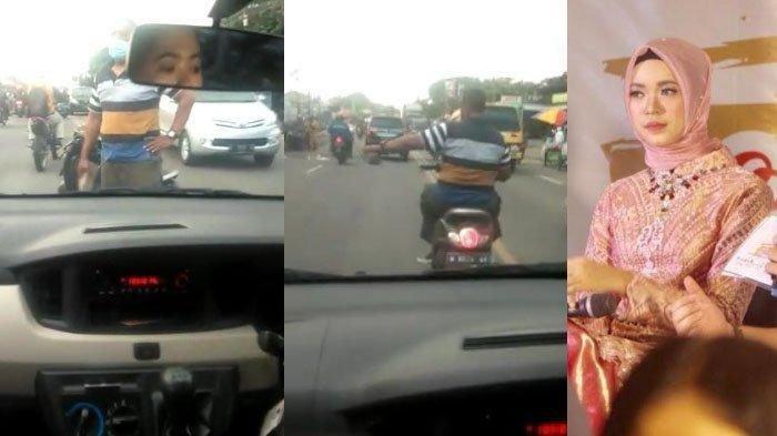 Pria Ini Ditangkap Polisi Karena Merusak Mobil Mahasiswi Menggunakan Paving