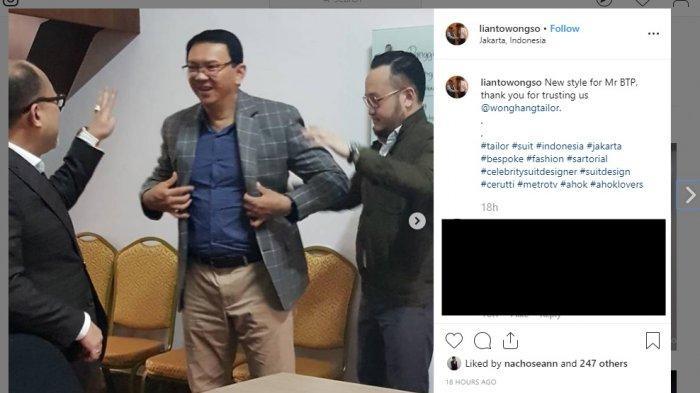 Nicholas Sean Sebut Sang Ayah Sudah Nikah, Ternyata Ini Tujuan Asli Ahok Pesan Jas di Samuel Wongso