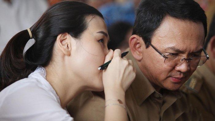Ahok dan Veronica Tan.