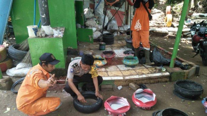 Kisah Aiptu Muchsin, Polisi Pengepul Ban Bekas yang Santuni Ratusan Anak Yatim hingga Lansia