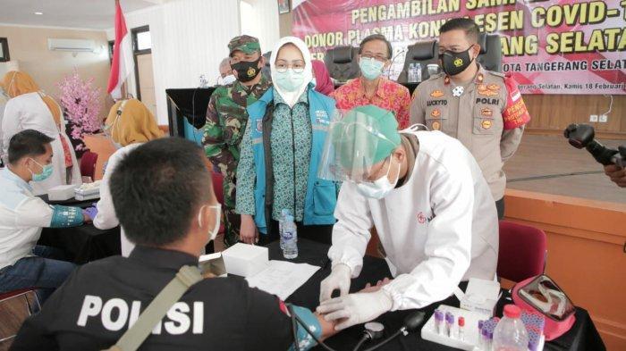 Produksi 367 Plasma Konvalesen, PMI Tangsel Masuk 10 Besar Penyumbang Terbanyak Se-Indonesia