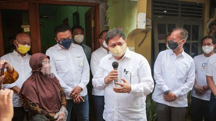 Di Tengah Upaya Pengendalian Pandemi, Airlangga Hartarto Optimis UMKM Bisa Bangkit