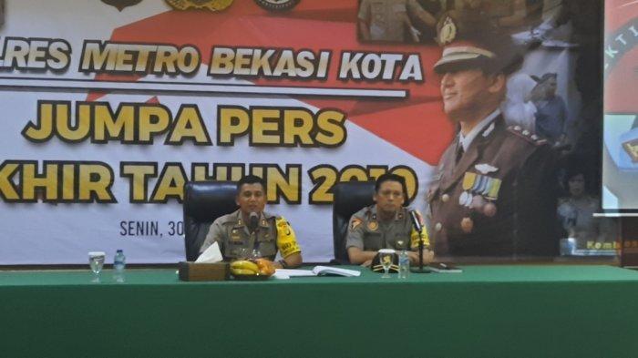 228 Kasus Tindak Kejahatan Terjadi di Kota Bekasi Sepanjang 2019